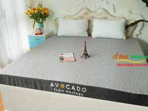 Đệm foam Massage Pháp Lasante AVOCADO